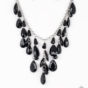 Irresistible Iridescence - Black Necklace Set